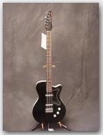 "Jerry Jones Original 6 String Bass, Dolphin Nose Headstock, Color ""Black"", Item # GJ041"