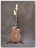 Jerry Jones Original Single Cut Bass, Dolphin Nose Headstock, Color