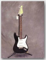 "USED John Suhr Guitars Classic, Alder, Color ""Black"", Item # CSJUD2"