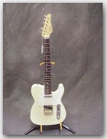 "John Suhr Guitars Classic T Alder, Color ""Vintage White"", Item # GJS289"