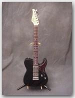 """John Suhr, Classic T, Color """"Black"""", Reverse Headstock, Item # GJS292"""