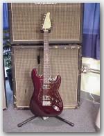 "John Suhr Guitars ""Like MIKE!!"", Alder, Color ""Black Cherry Metallic"", Item #GJS391"