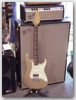 "NAMM 2008 John Suhr, Classic Chambered , Alder Color ""Shoreline Gold"", Item #GJS414"
