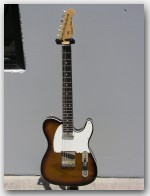 "Michael Tuttle Guitars, NEW Slimline T!, color ""3 Tone Burst w/ Binding"", Item # GTM06"