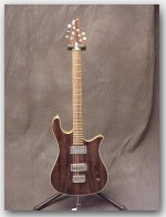 "Soloway Guitars, Swan,Bolivian Rosewood/Ash, Color ""Natural"", Item # GSOL03"