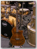 "Anderson Crowdster, Maple on Mahogany, Color ""Tiger's Eye w/ Binding"", Item # GTA207"