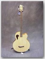 """Tacoma Guitars, Thundercheif Bass, Color """"Natural"""", Item # GTAC03"""