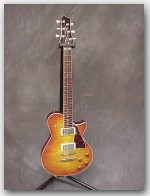 Terry McInturff, Carolina #2, Maple/Mahogany, Tea Burst, Item # GTM101
