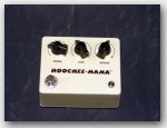 "Brown Electric, Hoochee-Mama Overdrive Pedal, Color ""Cream"", Item # GE0014"