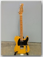 "Michael Tuttle Guitars, Tuned T, color ""Trans Butterscotch"", Item # MTWR2"