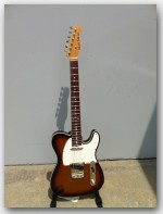 "Michael Tuttle Guitars, Tuned T, color ""3 Tone Sunburst"", Item # MTWR3"