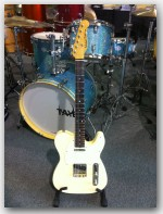 "Michael Tuttle Guitars, Tuned T, color ""Cream"", Item # MTWR4"