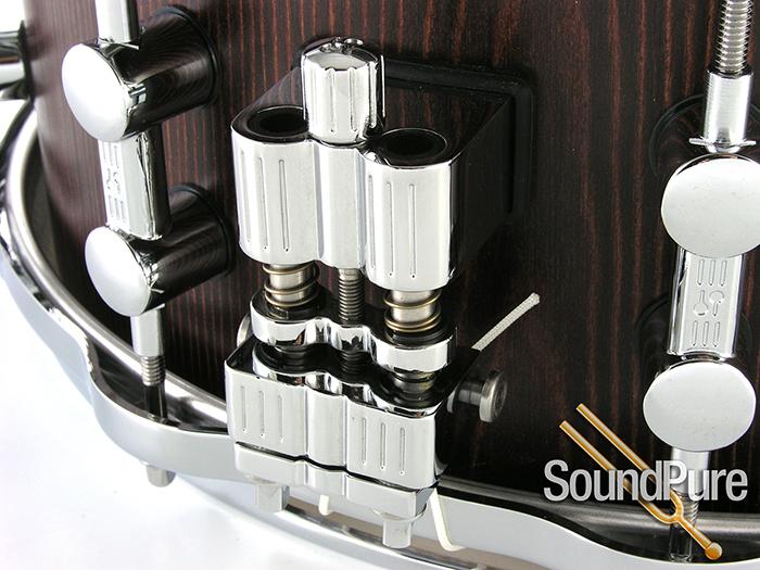 14×6 Sonor Prolite Snare Drum w Die Cast Hoops Nussbaum